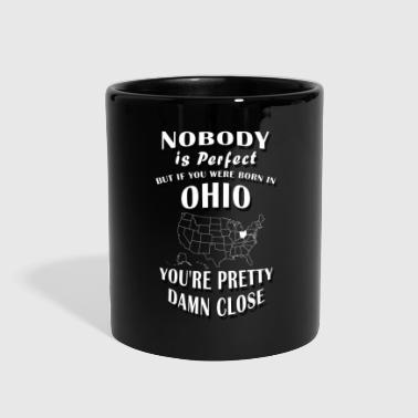 BORN IN OHIO - Full Color Mug