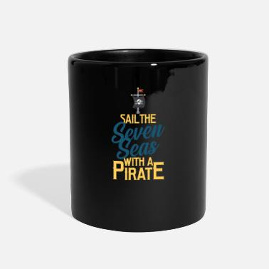 Pirate Flag Pirate, Pirate flag, Pirate ship - Full Color Mug