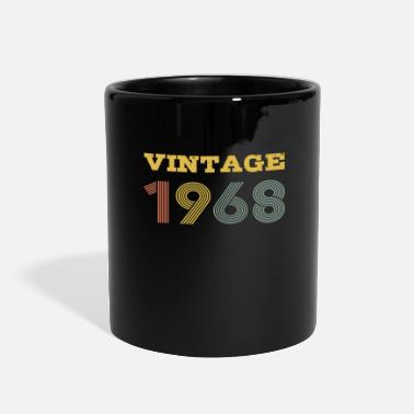 50th Birthday Vintage 1968 Retro 50th Birthday 60s Gift Idea - Full Color Mug