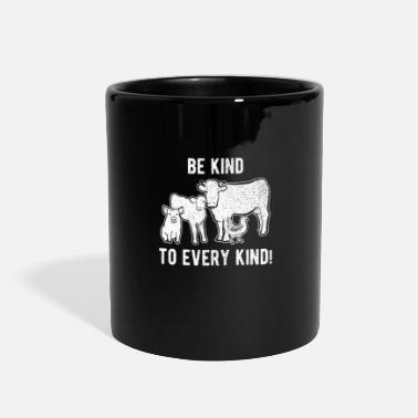 Vegan Be Kind To Every Kind - Full Color Mug