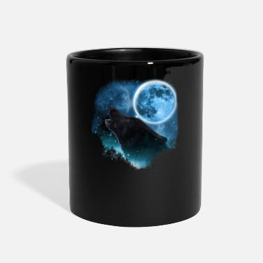 Wolf Black Wolfs Skylight 3pxc - Full Color Mug