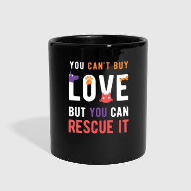 Animal Lover Rescue love Animal Rescue T Shirt - Full Color Mug