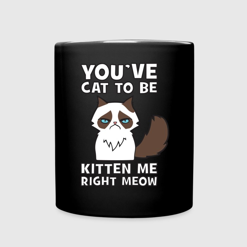 You've Cat To be Kitten Me Right Meow - Full Color Mug