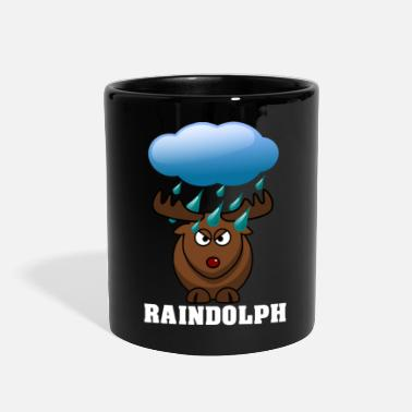 Red Nose Raindolph the red nosed reindeer - Full Color Mug