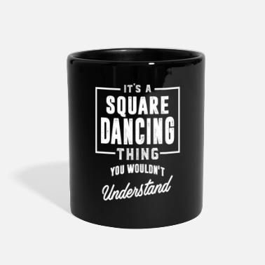 Square Gift for Square Dancing - Full Color Mug