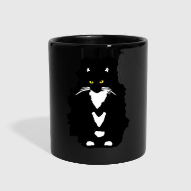 Tuxedo Cat - Full Color Mug