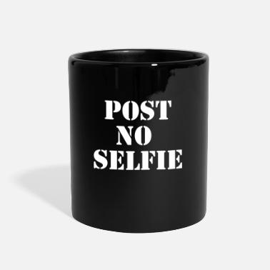 Post Post no selfie - Full Color Mug