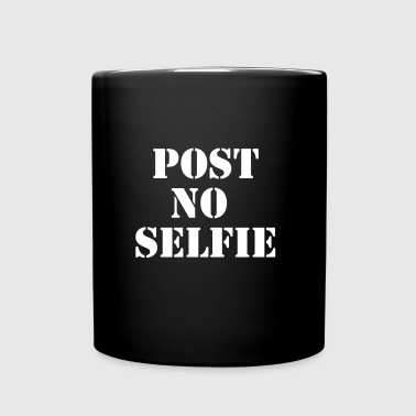 Post no selfie - Full Color Mug