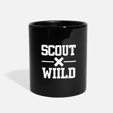 Bee Wild scout boyscout - Full Color Mug