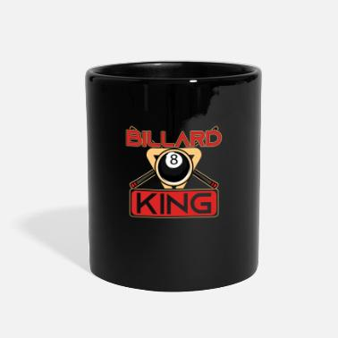 8ball Billiard King Pool Snooker Player 8Ball Gift - Full Color Mug