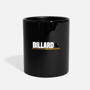 8ball Billiard 8Ball Pool Billiard Ball Gift - Full Color Mug
