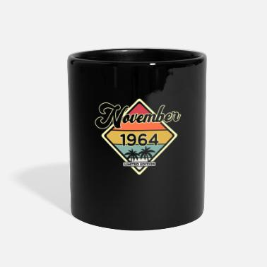 Retro Vintage November 55 Year 1964 55th Birthday Gift - Full Color Mug