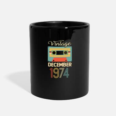 Born Legends Vintage December 1974 45th Birthday 45 Year Gift - Full Color Mug