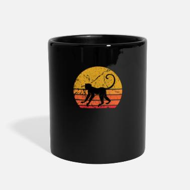 Sunny Retro Sun Monkey Primate Gift - Full Color Mug