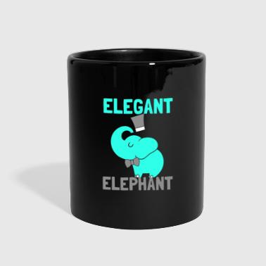 Elegant Elephant - Full Color Mug