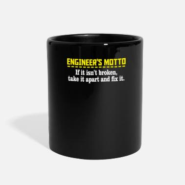 Motto engineers motto - Full Color Mug
