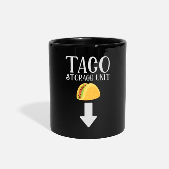 Geek Mugs & Drinkware - Taco Storage Unit - Full Color Mug black