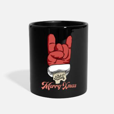 Ugly Christmas Merry Xmas. Let's rock - Full Color Mug