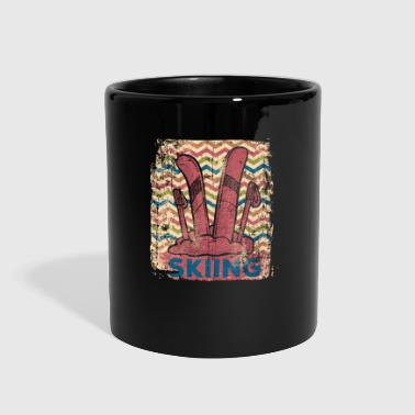 Ski Instructor Skiing - Full Color Mug
