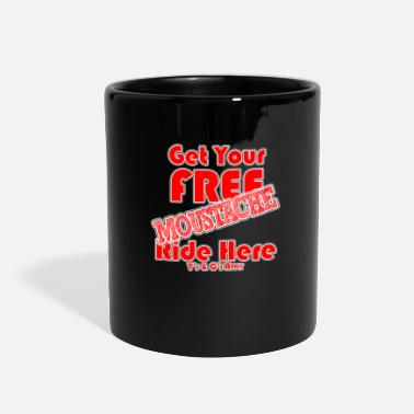 Moustache M Ride Free - Full Color Mug