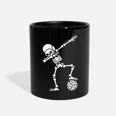 Water-polo Water polo Dab dabbing skeleton Halloween - Full Color Mug