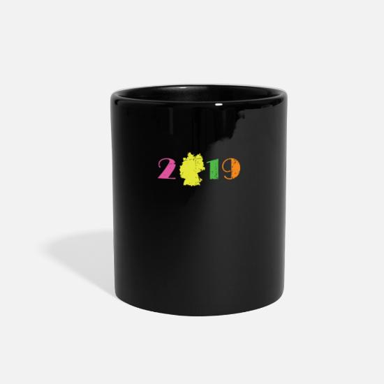 2019 Mugs & Drinkware - 2019 New Year New Year New Year's Eve Gift Idea - Full Color Mug black