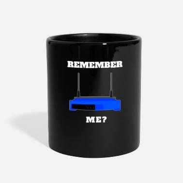Technology Remember Me? Old School Technology Design - Full Color Mug