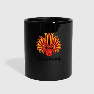 Sri Lanka Mask - Full Color Mug