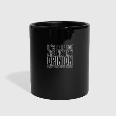 opinion - Full Color Mug