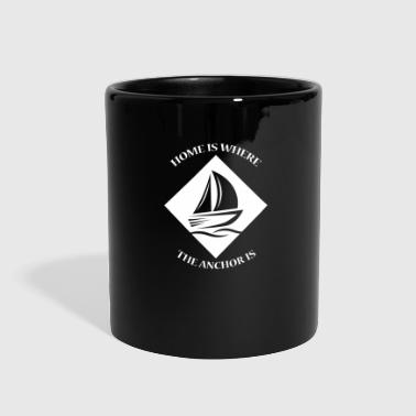 Seaman sailing sailor boat ship gift idea funny qoute sea - Full Color Mug