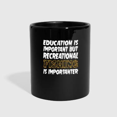 Recreational Fishing Is Importanter - Full Color Mug