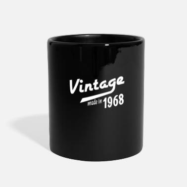 50th Birthday 1968 birth day birthday gift idea born in date - Full Color Mug
