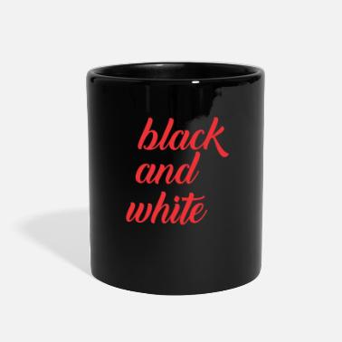Black And White black and white - Full Color Mug