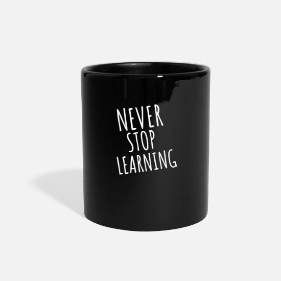 Back To School Mugs & Drinkware - Kindergarten Teacher - Full Color Mug black