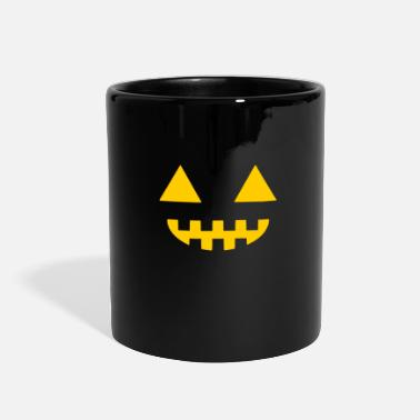 Grave Happy Halloween - zombie - pumpkin - horror - Full Color Mug