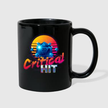 Critical Hit Dungeons Fantasy Outrun Design - Full Color Mug