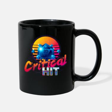 Vampire &amp Critical Hit Dungeons Fantasy Outrun Design - Full Color Mug