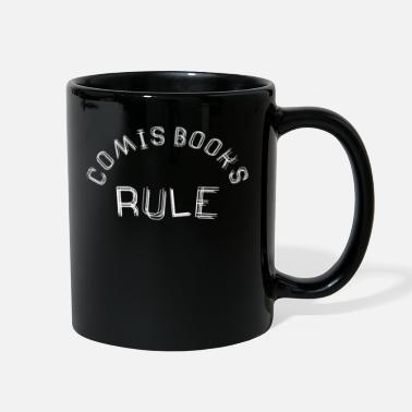 Comic Book Comic books rule - Full Color Mug