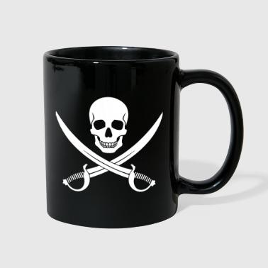Pirate Skull v2 - Full Color Mug