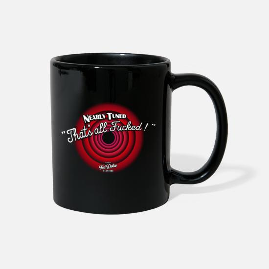 Psychobilly Mugs & Drinkware - That's all Fucked - Full Color Mug black