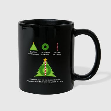 HP & Merry Hallows White - Full Color Mug