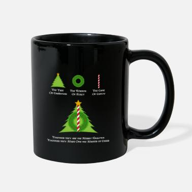 HP & Merry Hallows White - Tasse colorée