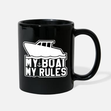 Boat Boat Ship Rules Profession Gift Yacht Captain - Full Color Mug