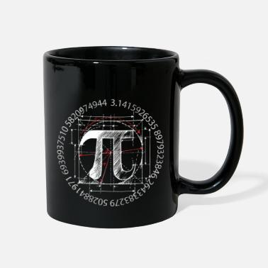 Drawing pi_drawing_white - Full Color Mug
