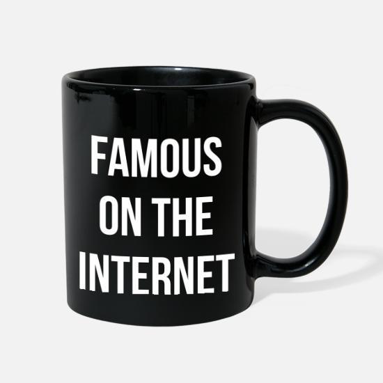 Famous On The Internet Novelty Mug
