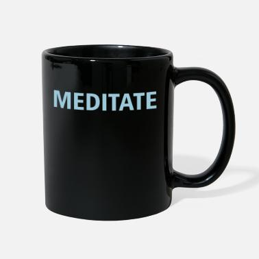 Meditation (meditate) - Full Color Mug