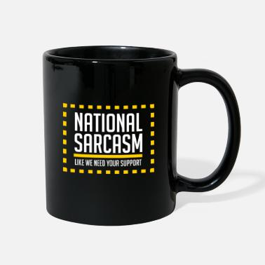 Satire National Sarcasm Society. - V3 - Gift - Full Color Mug