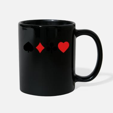 Card playing cards - Full Color Mug