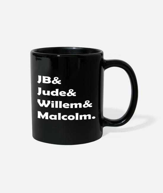 Jude And JB And Willem And Malcolm Mugs & Cups - Jude And JB And Willem And Malcolm - Full Color Mug black