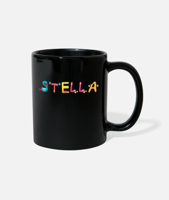 Stella Birth Mugs & Cups - Stella - Full Color Mug black